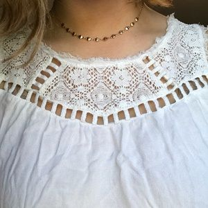 Tops - Summer Lace Sleeveless Blouse